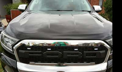 Ford ranger ceramic coating paint protection