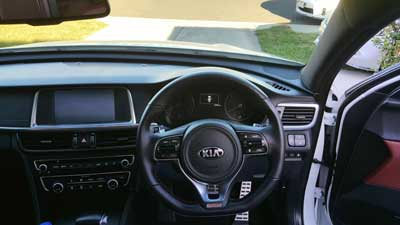 Kia sportage interior clean