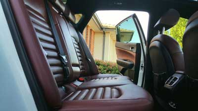 Leather seats rejanuvate